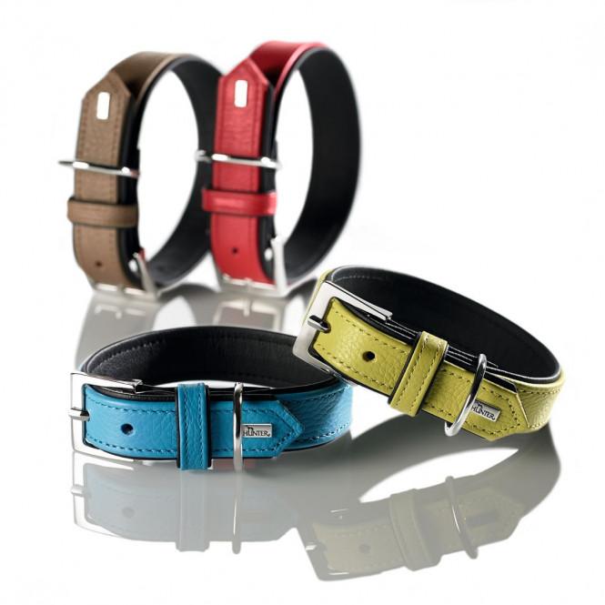 Hunter Capri Läderhalsband