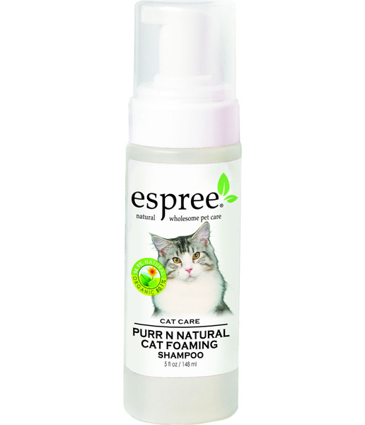 Espree Purr Natural Foaming Cat Shampo