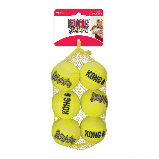 Kong Air Dog Squeaker 6-pack