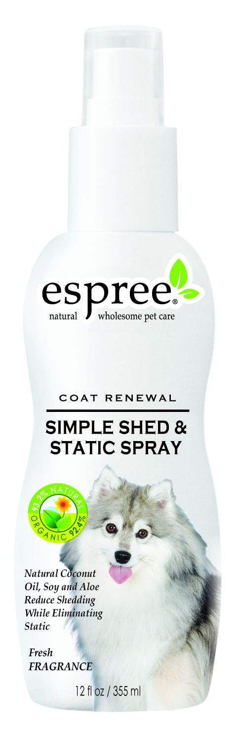 Espree Simple Shed and Static Spray