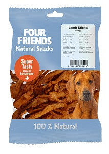 Four Friends Natural Snacks Lamb Sticks