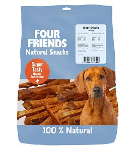 Four Friends Natural Snacks Beef Sticks