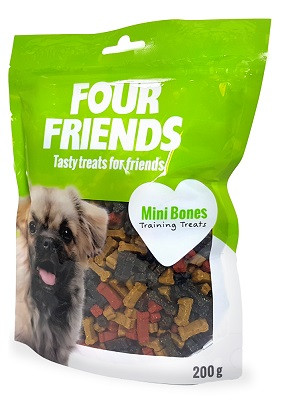 Four Friends Training Treats Mini Bones