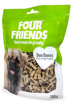 Four Friends Training Treats Duo Bones
