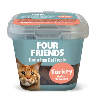 Four Friends Cat Treat Turkey