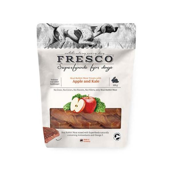Fresco Hundgodis Rabbit, Apple and Kale