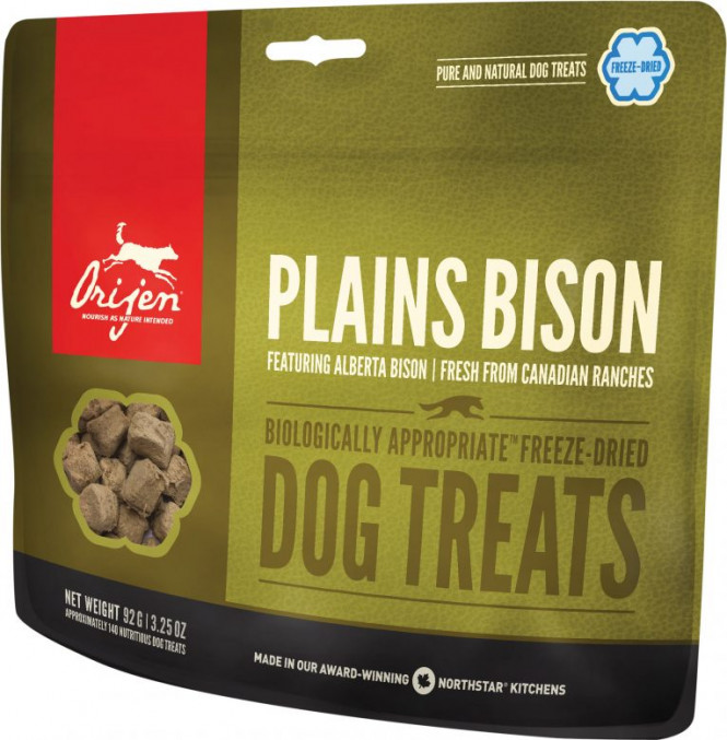 Orijen Dog Treats Plains Bison