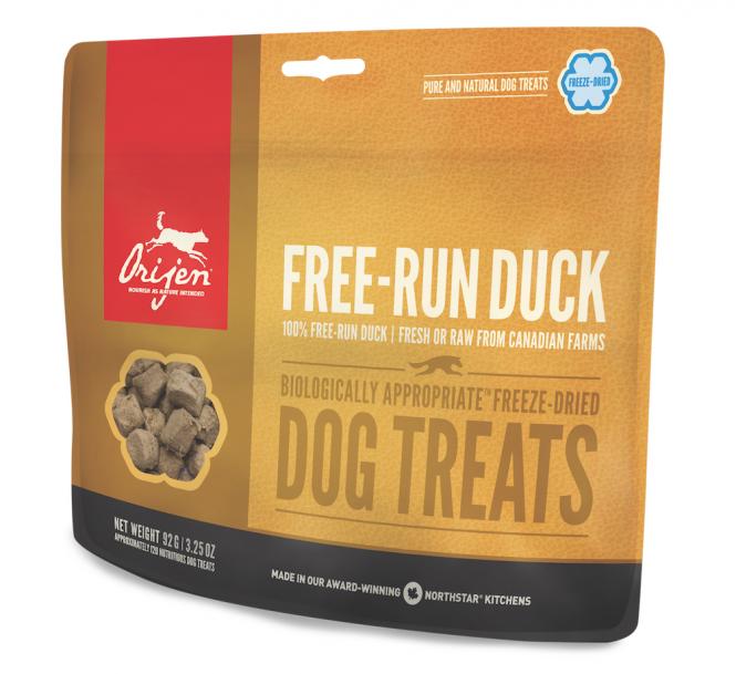 Orijen Dog Treats Free Run Duck