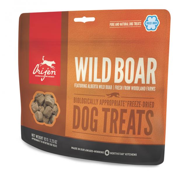 Orijen Dog Treats Wild Boar