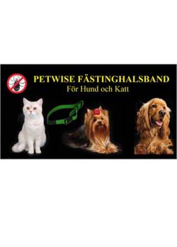 Petwise Fästinghalsband