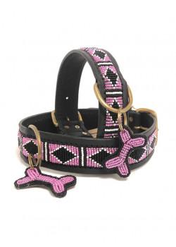Kampuni Halsband Pink