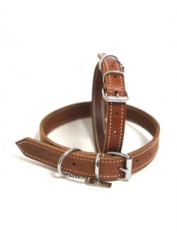 Läder Halsband