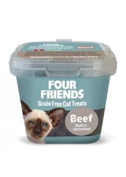 Four Friends Cat Treat Beef