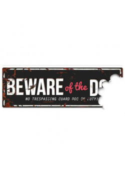Beware of the Dog Svart