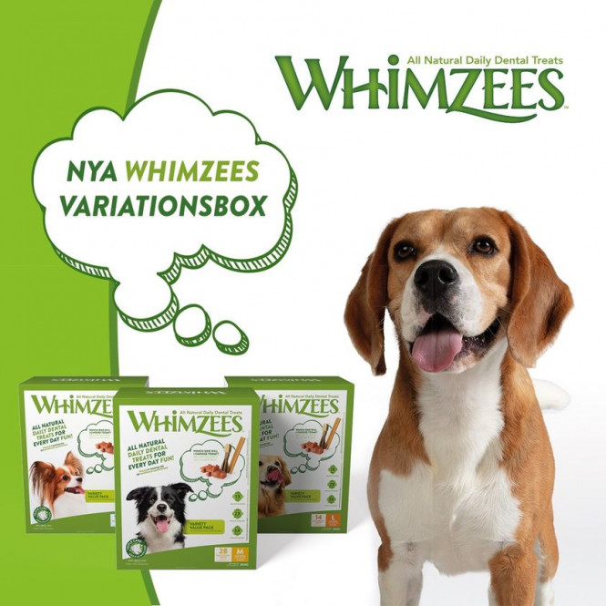 Whimzees Variety Value Box M 28st