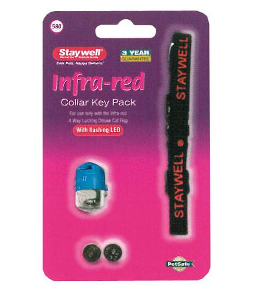 Petsafe Staywell Infra-Red Halsband Blå
