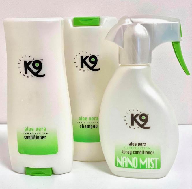 K9 Paket AloeVera Shampoo/Balsam/Spray