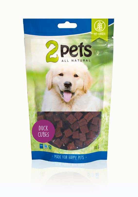 Dogsnack Duck Cubes
