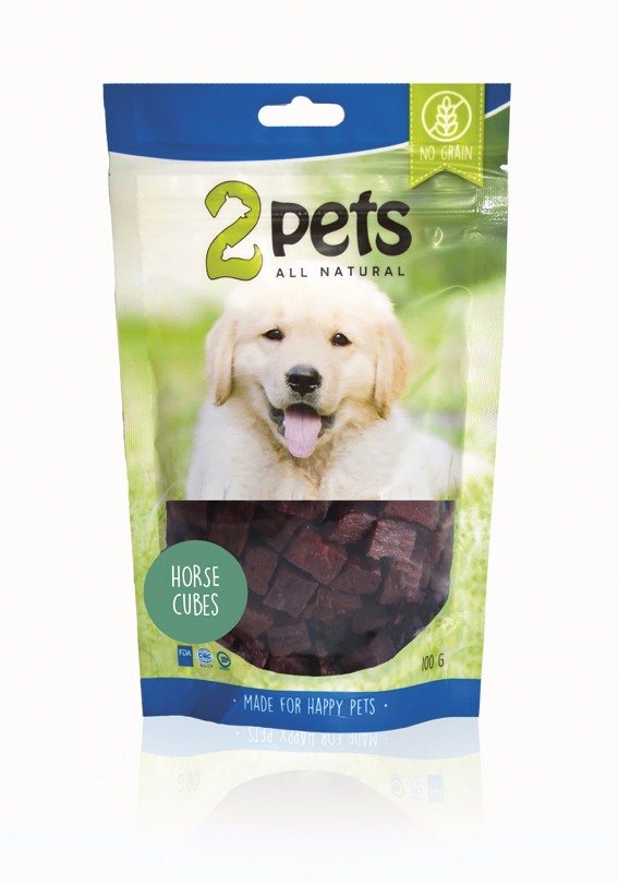 Dogsnack Horse Cubes