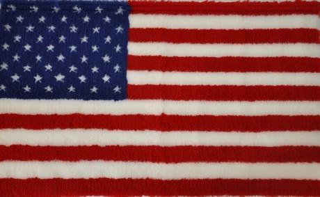 Vetbed Amerikanska Flaggan