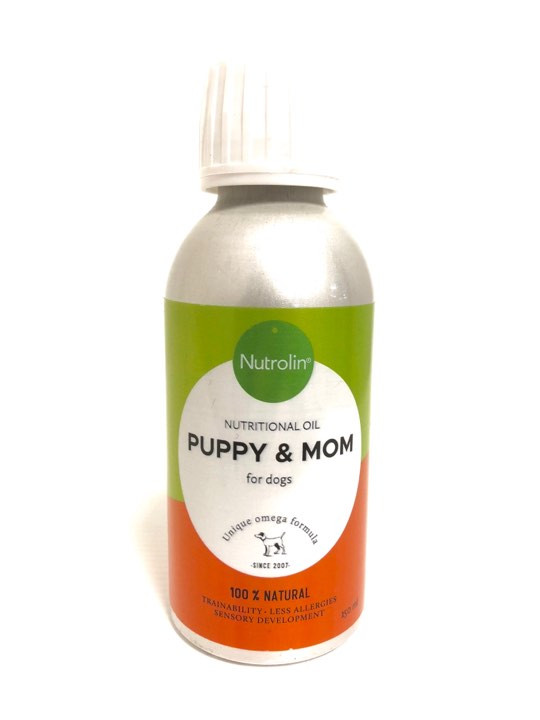 Nutrolin Puppy and Mom