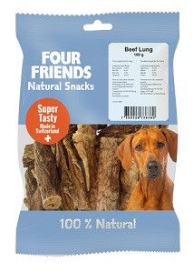Four Friends Natural Snacks Beef Lung