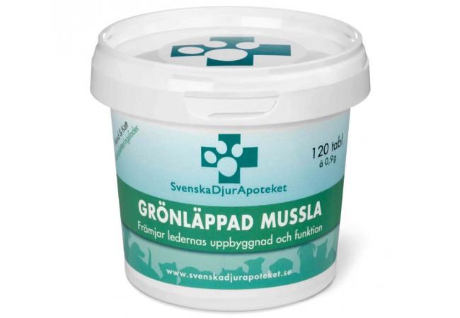 Svenska Djurapoteket Grönläppad Mussla
