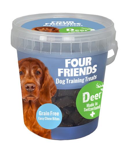 Four Friends Training Treats Deer