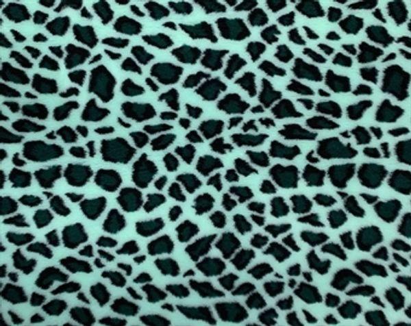 Vetbed Grön Leopard