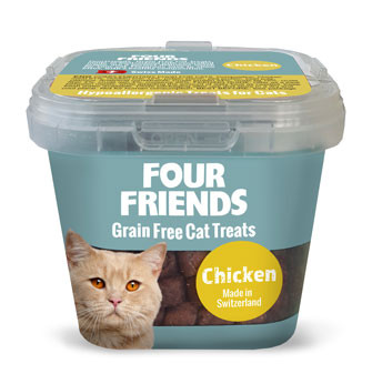 Four Friends Cat Treat Chicken