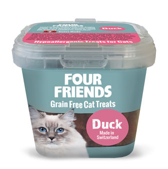 Four Friends Cat Treat Duck