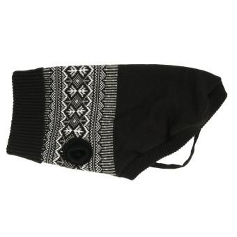 Enfärgad tröja Iselin Black