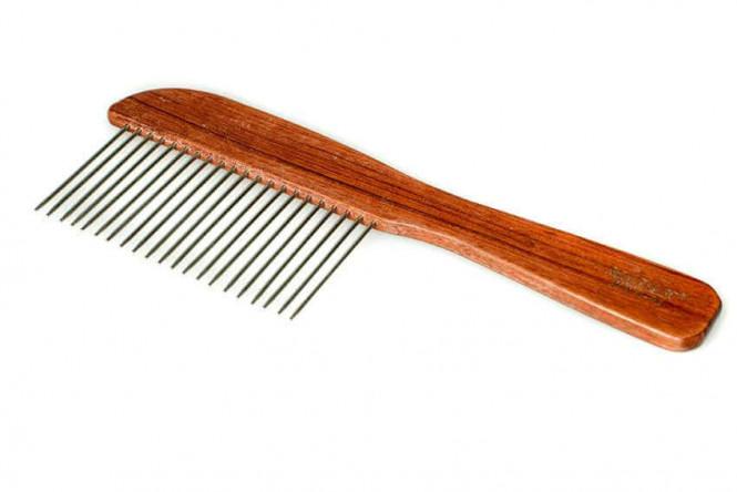 Show Tech Rosewood Poodle Comb Kam