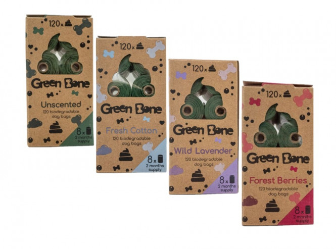 Green Bone Bajspåsar 120st