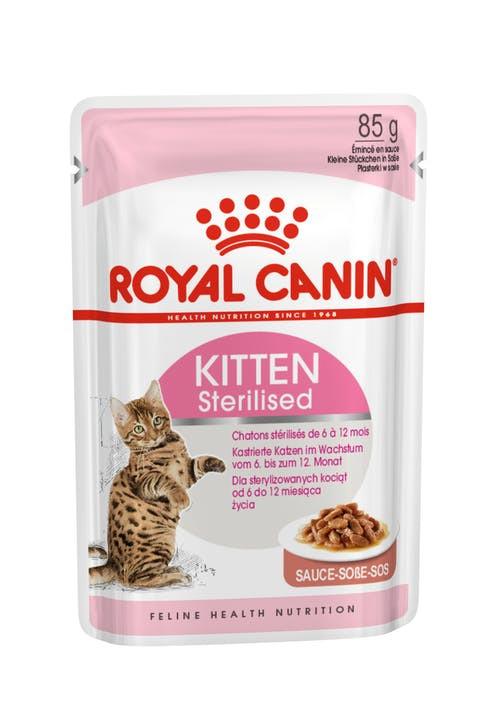 Royal Canin Katt Wet Kitten Sterilised Sauce 85g