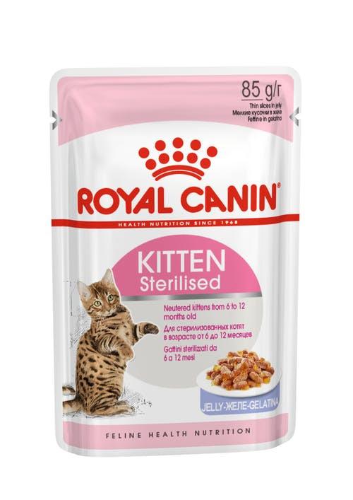 Royal Canin Katt Wet Kitten Sterilised Gelée 85g