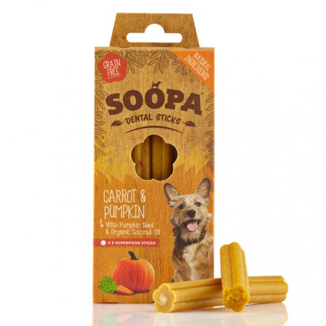 Soopa Sticks CARROT and PUMPKIN 100gr