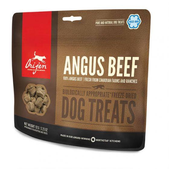 Orijen Dog Treats Angus Beef